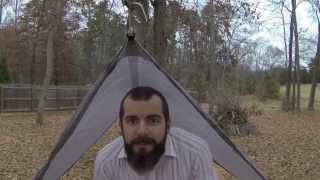 Bonefire™ Gear Delux Suspension: Setting Up a Tarp and Hammock