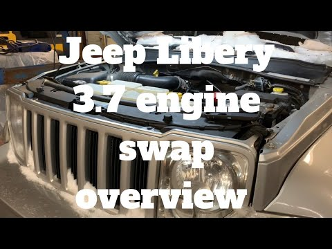 Jeep liberty engine removal overview 3.7 v6
