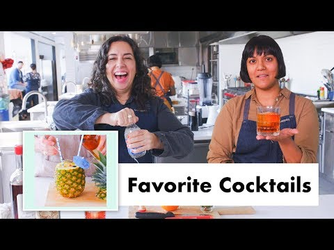 Pro Chefs Make Their Favorite Cocktails (10 Recipes) | Test Kitchen Talks | Bon Apptit