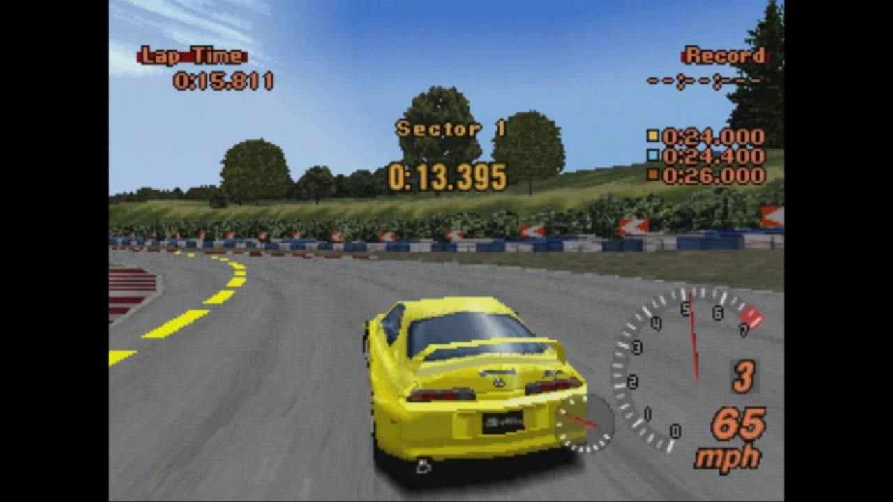 Epsxe Test Gran Turismo 2 Simulation Mode V1 1 Disc 2 Youtube