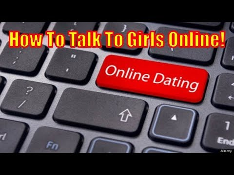 How to talk to women online------- live example