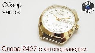 Обзор часов Слава 2427 с автоподзаводом