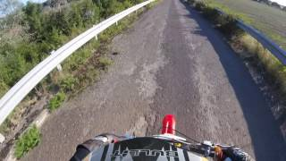 demonstration de dirt 125 crz moteur yx