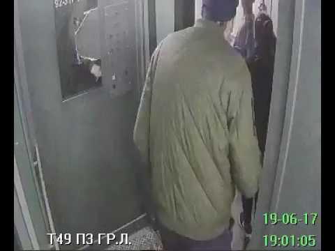 СПб, Тельмана 49. Подростки писают в лифте