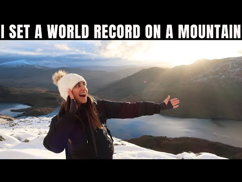 I Set A World Record On A Mountain..