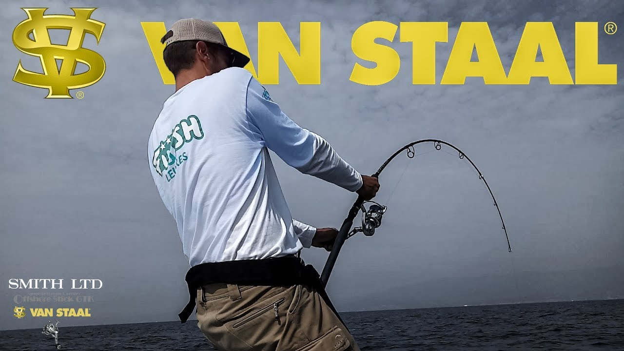 Download VAN STAAL VR 150 on fighting Tuna (LIVE ATTACK)