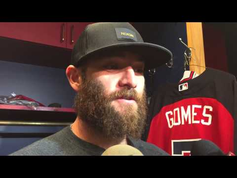 Jonny Gomes reports to Orlando for Braves ST