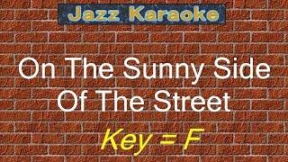 jazzkara on the sunny side of the street key f