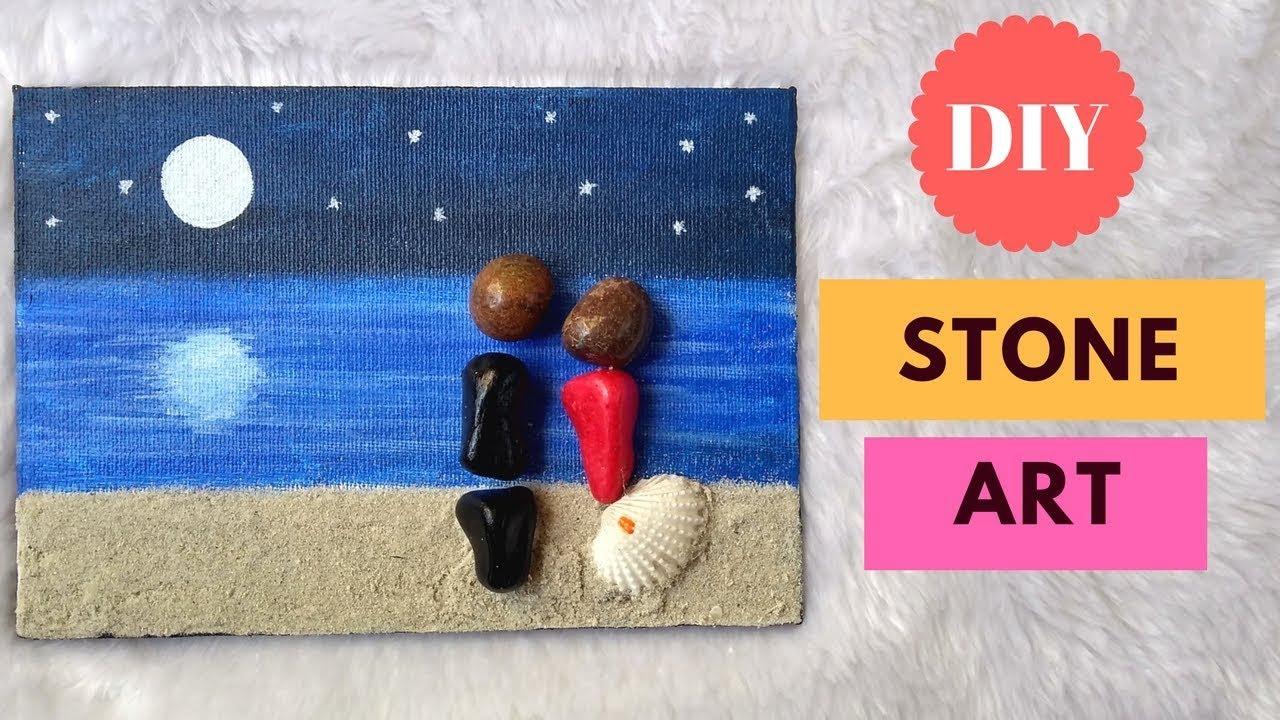 Stone art DIY | Pebble art diy |Easy stone painting ideas - YouTube