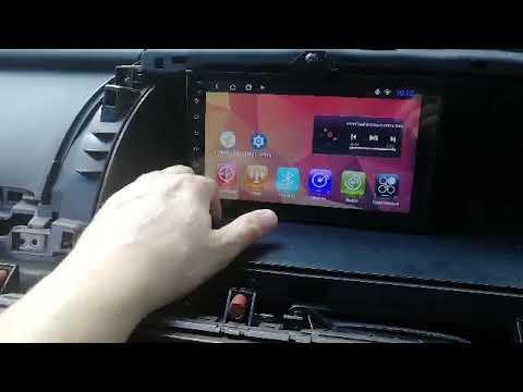 Как работает магнитола на Андроид Honda Elysion