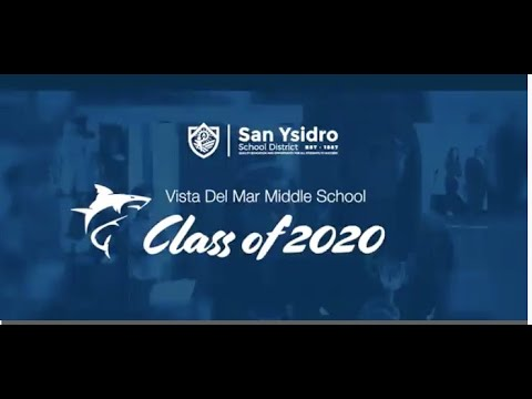 Vista Del Mar Middle School 8th Grade Promotion 2020