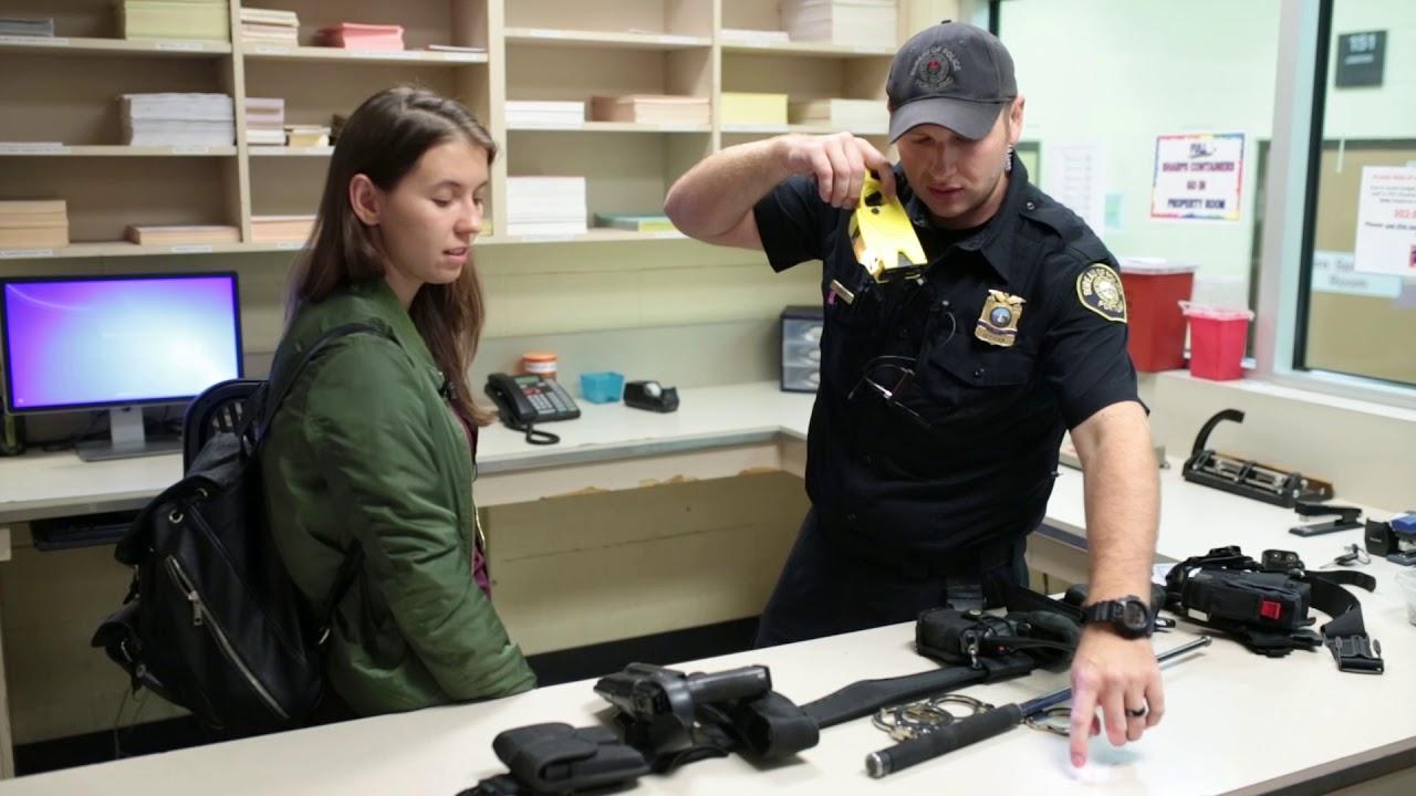 Работа полицейского в США   Офицер Полиции г. Портленд ...