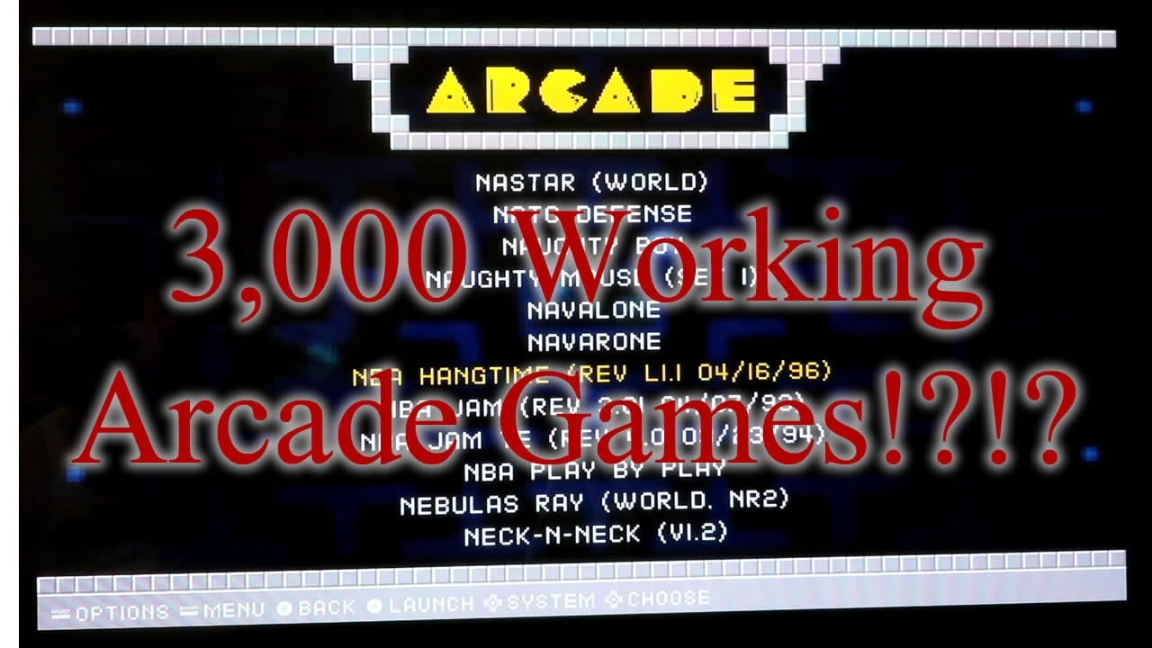 3000 Up To Date Mame/FBA (Arcade) Roms and Bios for RetroPie!!!
