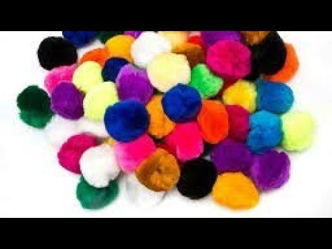 Hair band pom pom | Making with jhumka silk thread | jewellery tutorials
