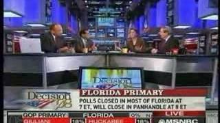 MSNBC Florida Primary Coverage - Republican Results