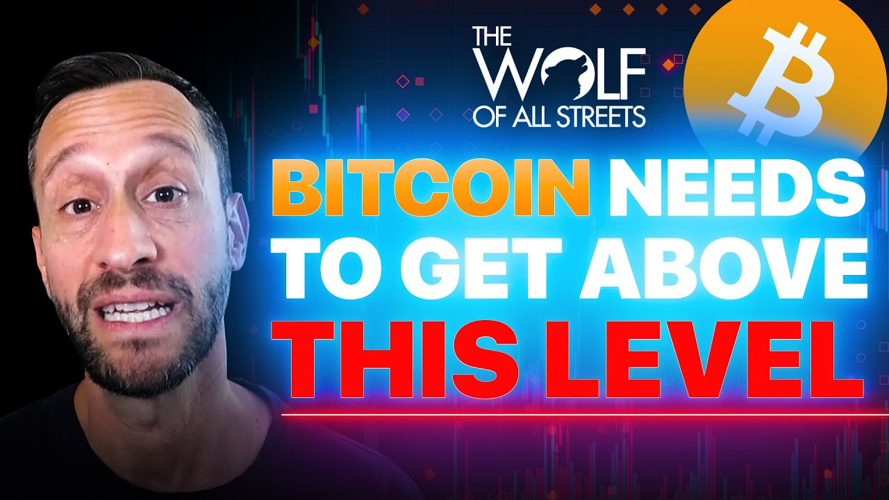 BITCOIN PRICE NEEDS TO GET ABOVE THIS LEVEL TO REVERSE