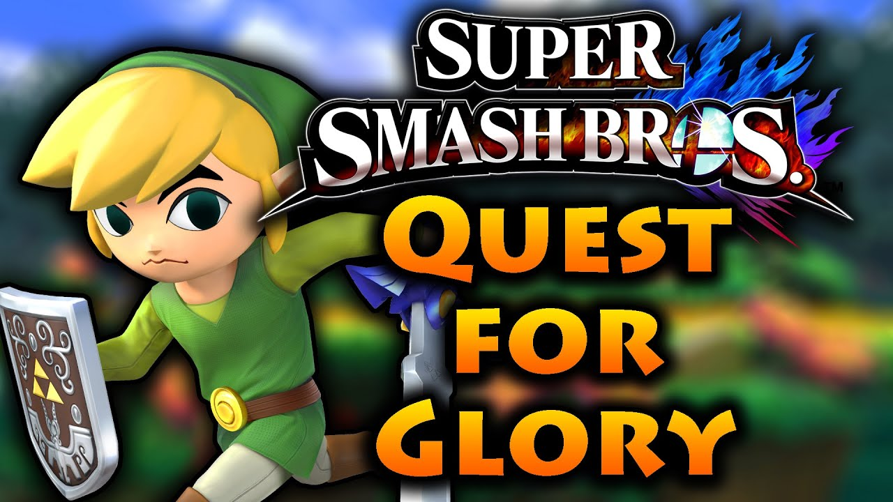 Super Smash Bros: Quest For Glory #1 (Toon Link) | Wii U 60FPS w/ Gehab (Sunday Special!) - Super Smash Bros: Quest For Glory #1 (Toon Link) | Wii U 60FPS w/ Gehab (Sunday Special!)