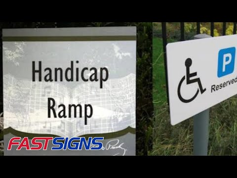 Stay Compliant with Braille and ADA Signs from FASTSIGNS®