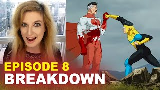 Invincible Episode 8 BREAKDOWN! Spoilers! Ending Explained! Comic Book Differences!