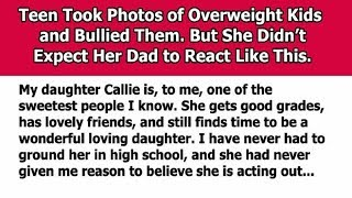 Teen Daughter Bullies Kids And Her Father Has The Perfect Punishment In Mind