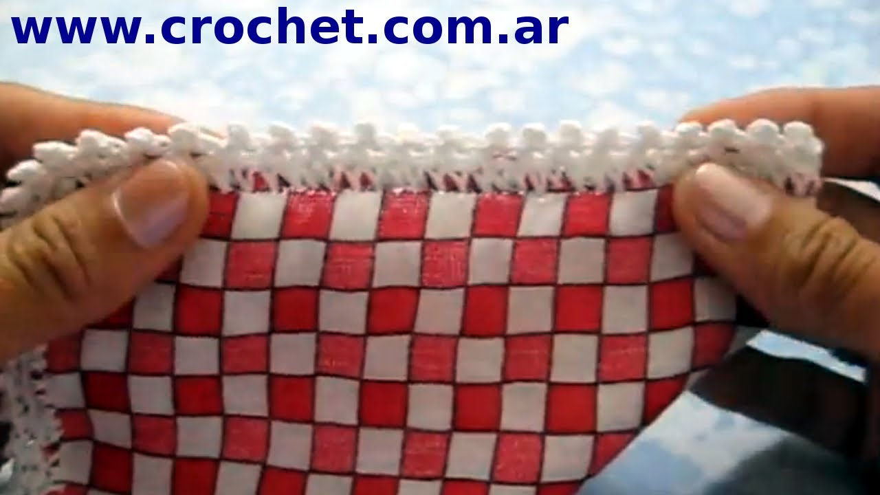 Puntilla n 12 en tejido crochet o ganchillo tutorial paso a paso moda a crochet youtube - Labores a ganchillo paso a paso ...