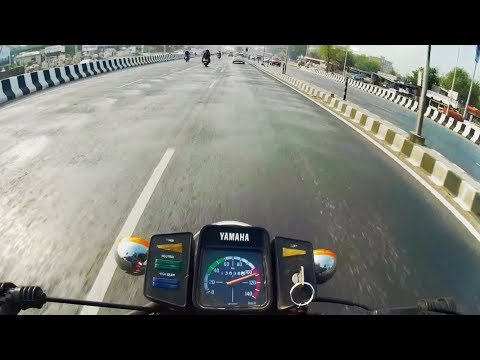RARE Yamaha RX100's Stock Top Speed And Acceleration |1994 Made