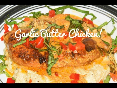 how-to-make-garlic-butter-chicken-recipe---easy-one-skillet-meals