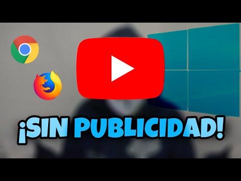 TUTORIAL: Tener YouTube sin publicidad en Pc GRATIS 100 %Real no fake :v