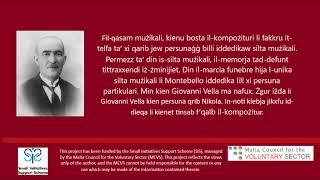 In memoria di Giovanni Vella - Nikola Montebello