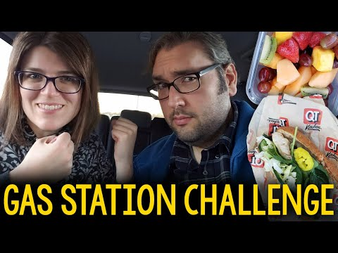 Brian Vs. Jessica: Whole Food Plant-Based Gas Station Challenge