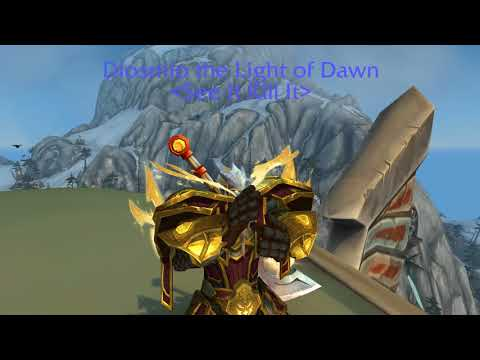 World Of Warcraft Finally LIGHTFORGED Heritage Armor!!