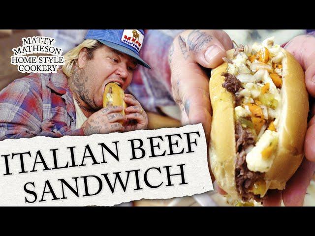 Italian Beef Sandwich | Matty Matheson's Home Style Cookery Ep. 1