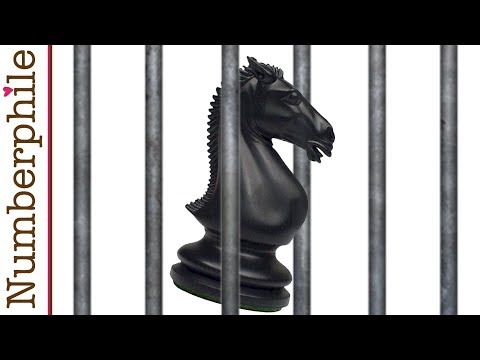 The Trapped Knight - Numberphile