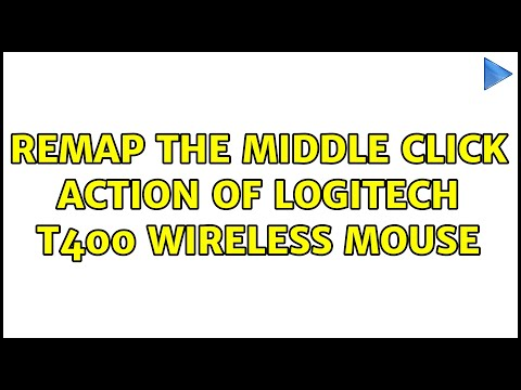 Ubuntu: Remap The Middle Click Action Of Logitech T400 Wireless Mouse (2 Solutions!!)