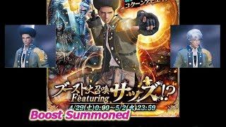 [MobiusFF] Boost Summoned Featuring Sazh Katzroy ブースト大召喚サッ...