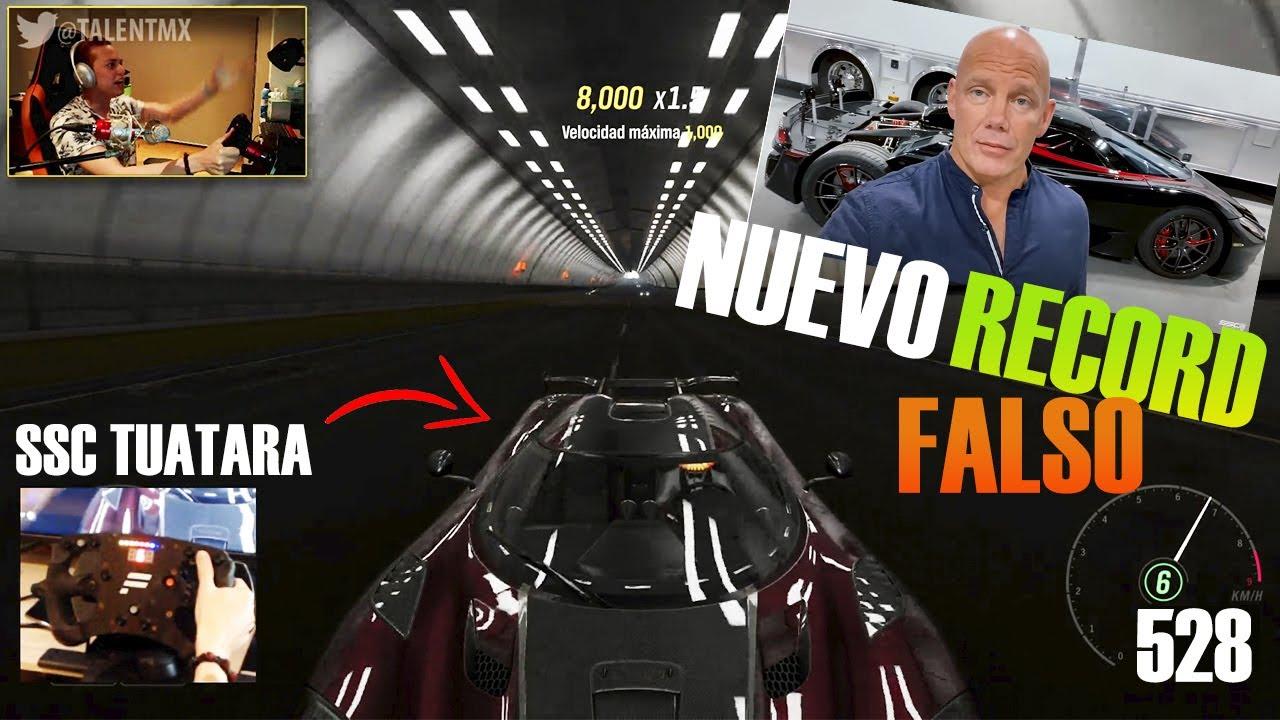 Download EL NUEVO AUTO MAS RPIDO DEL MUNDO QUE PASO LOS 500 km/h ES FALSO ?! | SSC TUATARA | FORZA HORIZON 4
