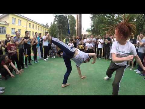 Roda of Russian Capoeira Center   Cordao de Ouro & Friends   August 2015
