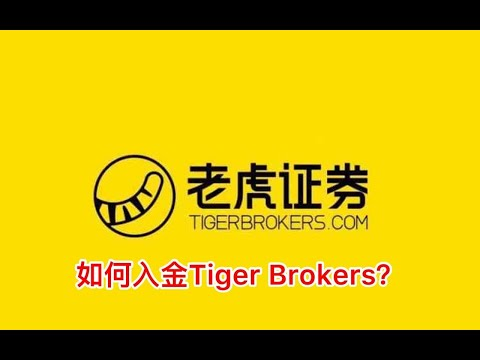如何入金Tiger Brokers?