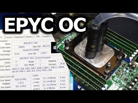 der8auer] Threadripper 2990X Preview - aka EPYC 7601