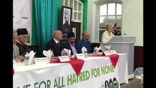 Birmingham Ahmadi Muslims host peace conference