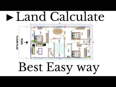 ►Land Calculate Best Easy way BANGLA/How to calculate land area