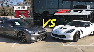 Corvette Z06 vs Nissan GTR - Which supercar is really better?
