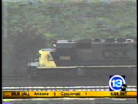 Runaway train out of Toledo Ohio