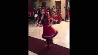 Faiza's dance at Shumi's holud