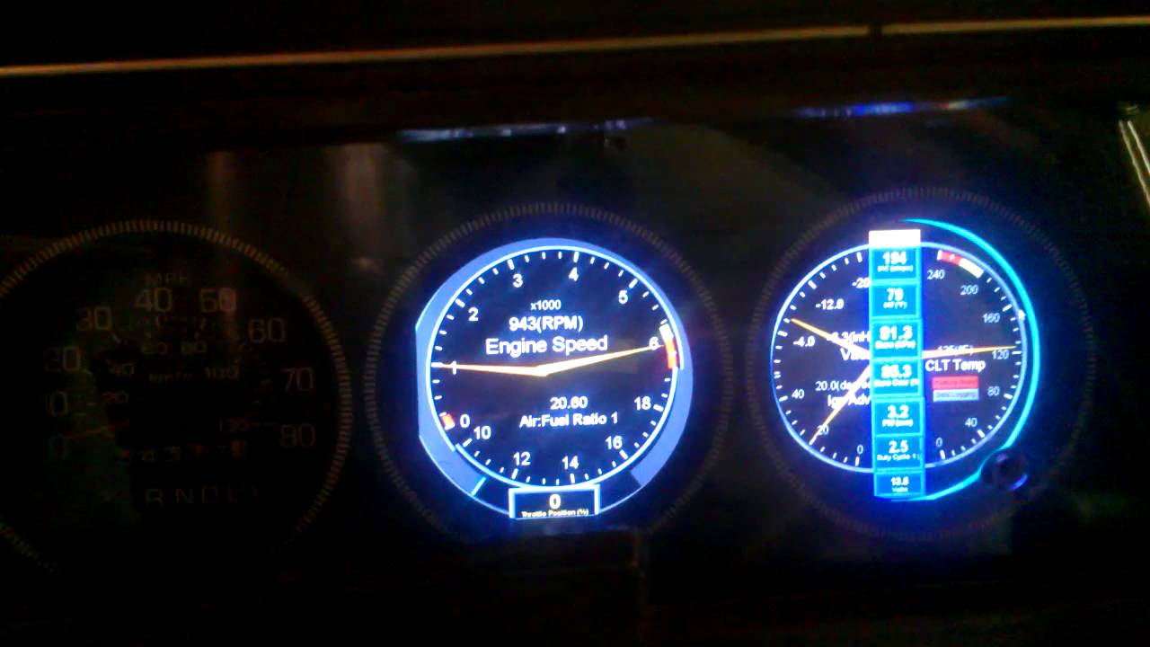 TheSilverBuick Digital Dash Cluster