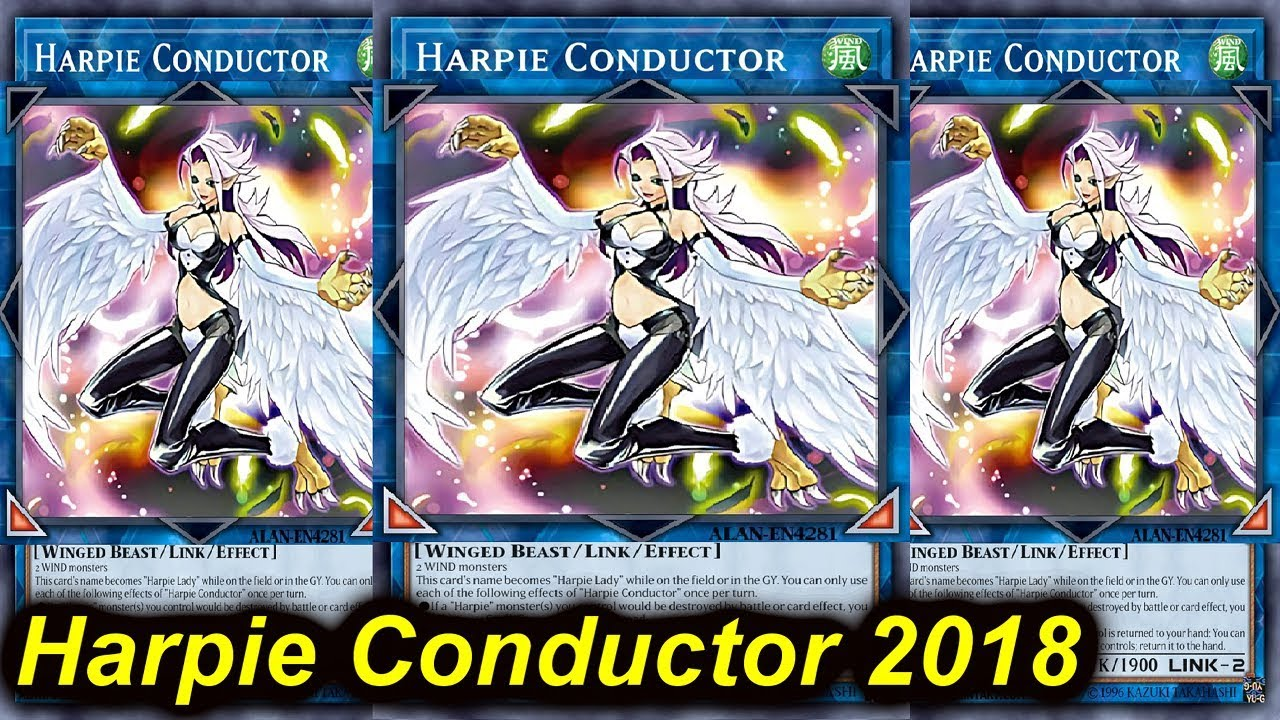 Ygoproharpie Conductor Deck 2018 Youtube
