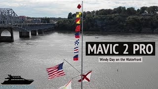 Mavic 2 Pro Windy Day on the Waterfront