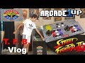 Arcade1up Street Fighter 2 cabinet unboxing & review!!! | T. F. B. Game Vlog