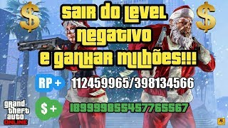 sair do level negativo e ganhar dinheiro no gta v online-PS3/ASSISTA ATE O FIM DO VIDEO!!!