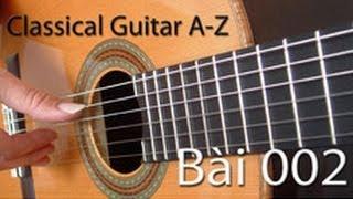 Classical guitar A-Z Bài-002